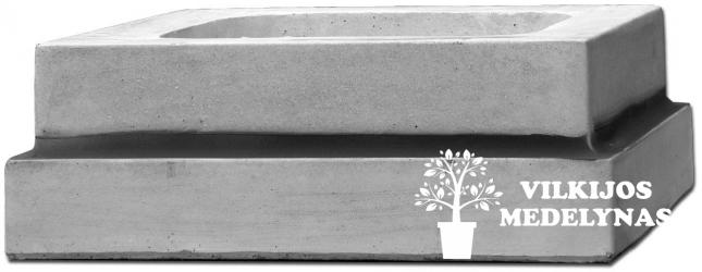 Betoninės vazos pagrindas